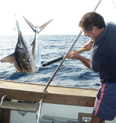 pesca con la fiocina