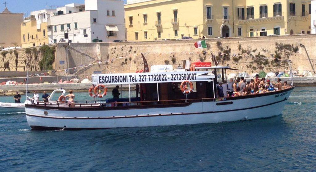 SPAGHETTATA in barca