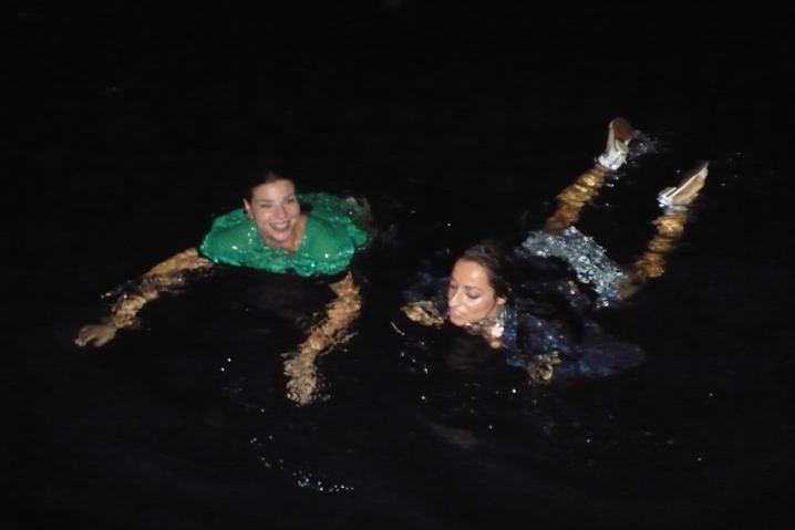 Bagno di notte
