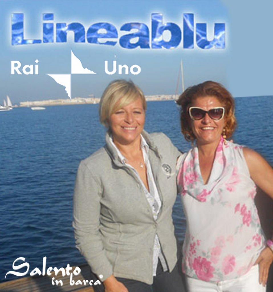 Con Donatella Bianchi di Linea Blu sulla barca